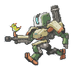 Bastion Spray - Pixel