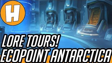 Overwatch Lore - Ecopoint Antarctica Story + Easter Eggs! Hammeh