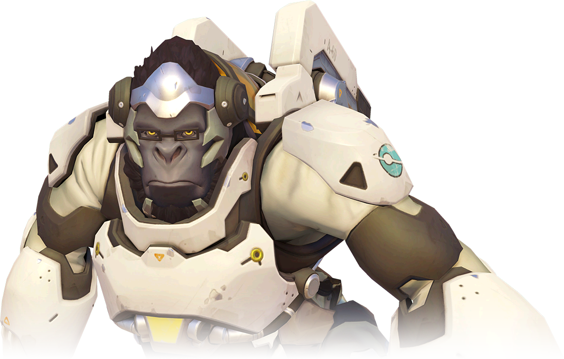 how tall is winston overwatch