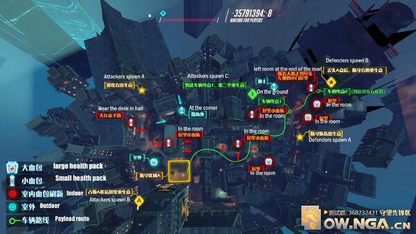 King's Row overhead map
