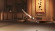 Genji cinnabar wakizashi