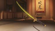 Genji ochre golden dragonblade
