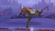 Sombra noche golden machinepistol