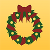 Pi wreath