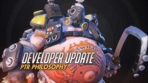 Developer Update PTR Philosophy Overwatch