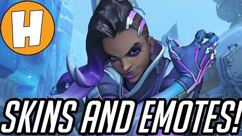 Overwatch - Sombra PTR Skins, Emotes and Voicelines Hammeh