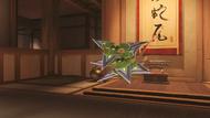 Genji malachite shuriken