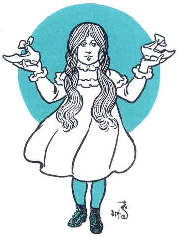 File:Dorothy Gale with silver shoes.jpg