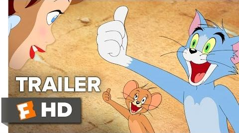 Tom and Jerry Back to Oz Official Trailer (2016) - Animated Movie HD