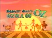 Dorothy meets Ozma