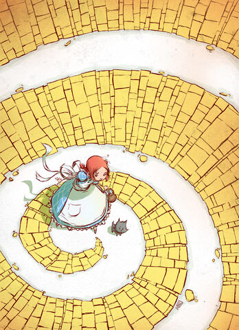 File:Dorothy yellow brick road by skottieyoung-d50x8gx.jpg