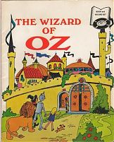 File:The Wizard of Oz book cover (1970 Shelley Graphics paperback, record-not-included).jpg