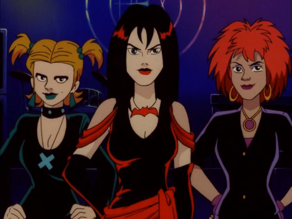 The Hex Girls from Scooby Doo and the Witch's Ghost Photo: wikia.com