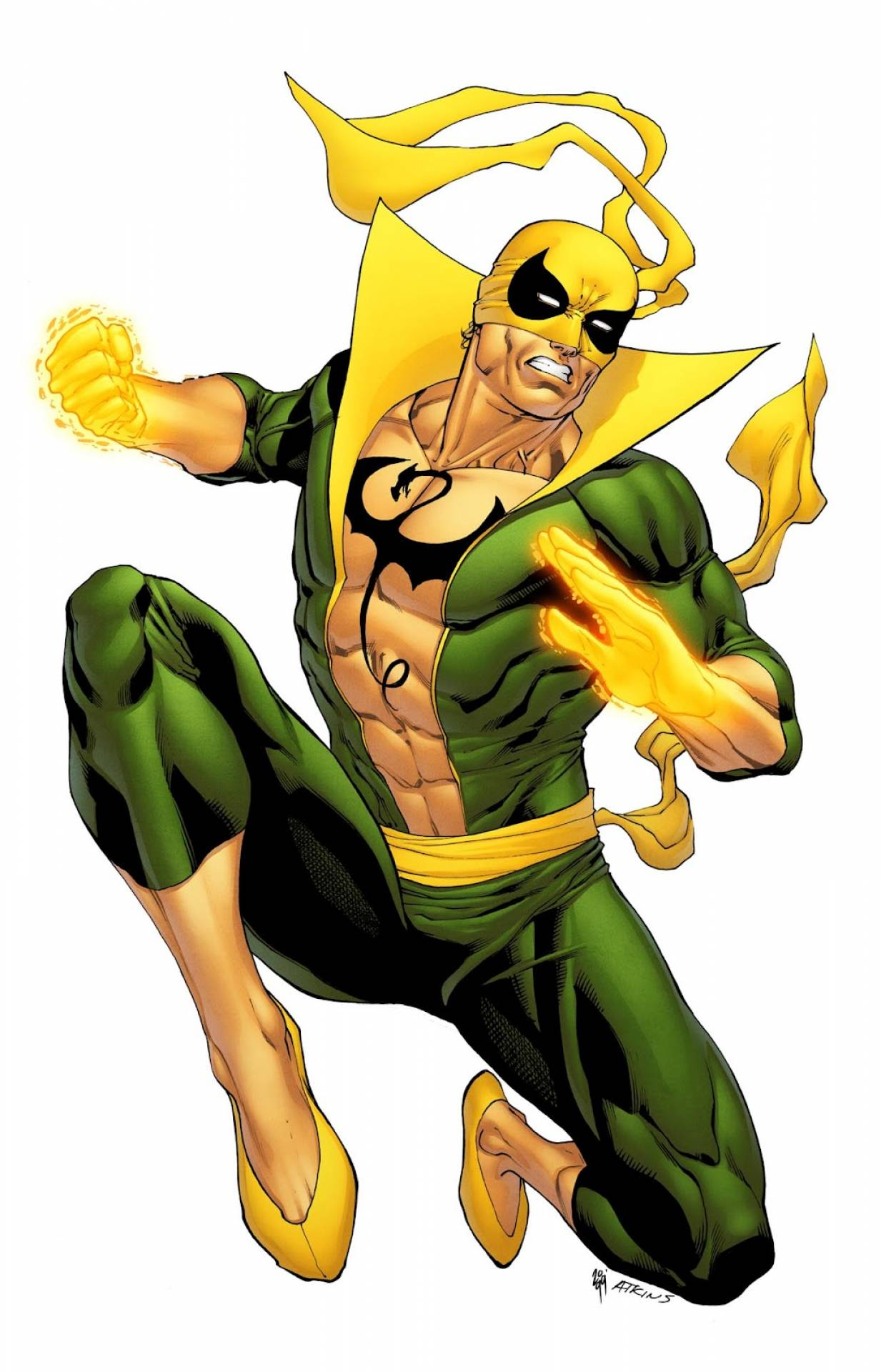 MarvelS Iron Fist Kinox