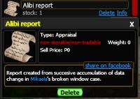 AlibiReport