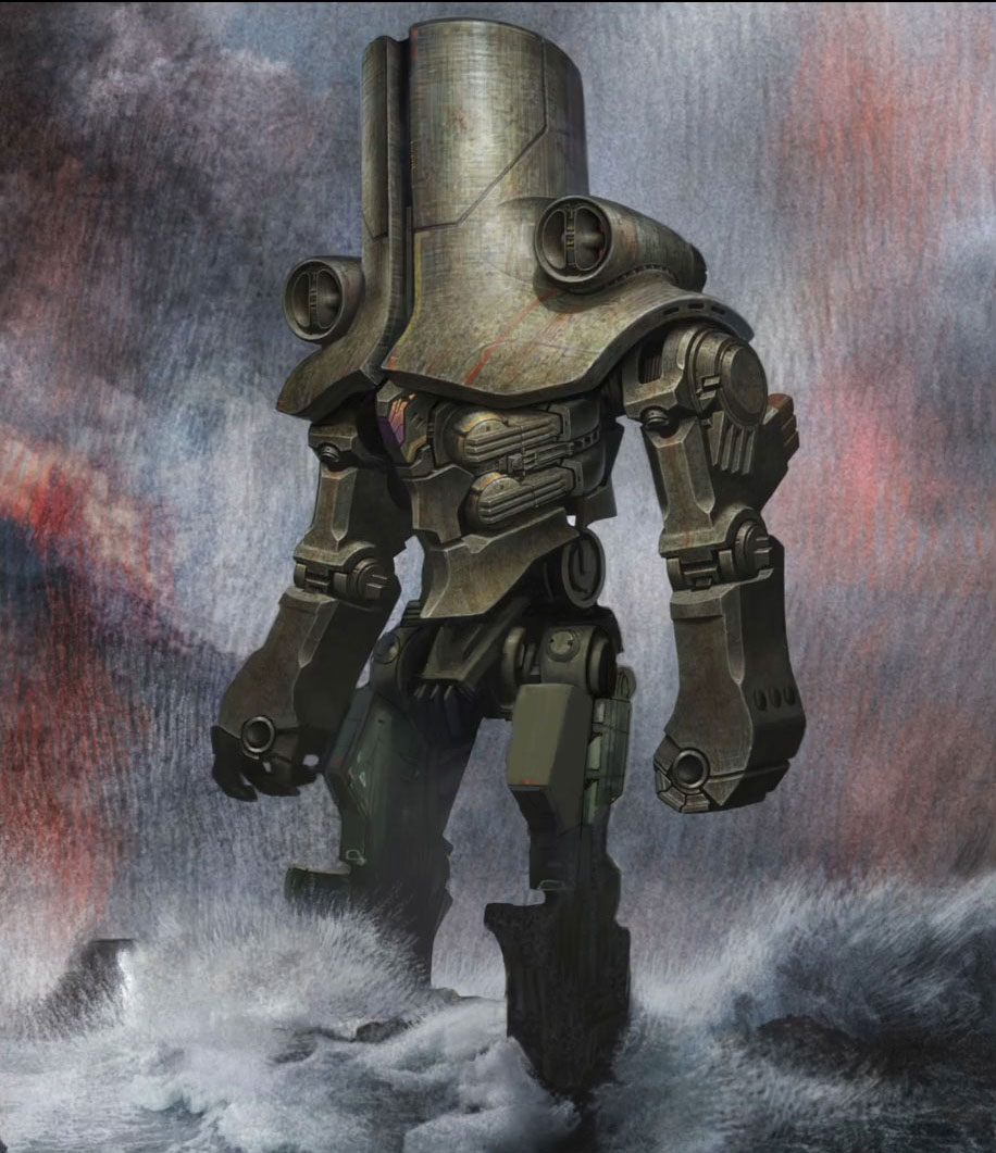 Jaeger weaponry - cherno alpha - a pacific rim posters image