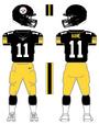 Steelers alternate uniform
