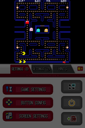 Namco Museum DS - Pac-Man (horizontal aspect ratio, sharp) (DeSmuME 0.9.11)