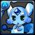 No.048  ブルーカーバンクル(藍色寶石獸)