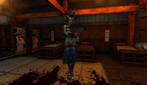 Geisha in Japanese Massacre