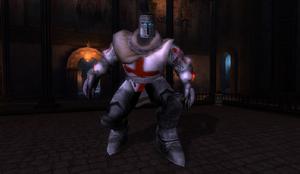 Templar Knight Boss in Oriental Castle