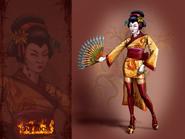 Concept art of Geisha