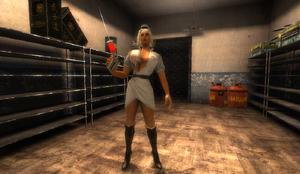 Nurse in Lab