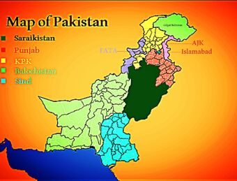 Map of Pakistan-0