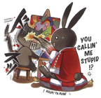 B-Rabbit and Jun Cat