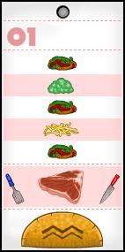 James' Taco Order