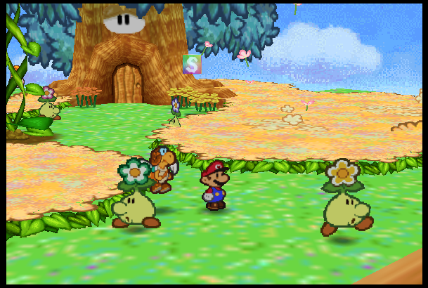 Paper mario princess peach gives bowser a handjob - 1 8