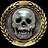 Badge villain skulls