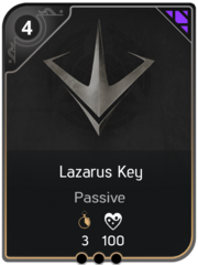 Lazarus Blade card