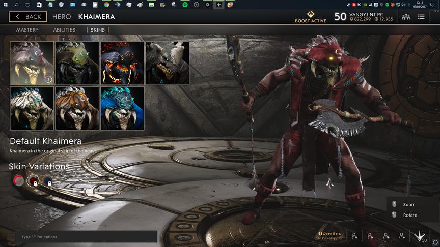 Khaimera Red Default skin