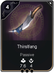 Thirstfang card