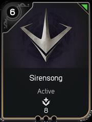 Sirensong card