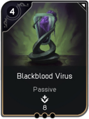 Blackblood Virus card