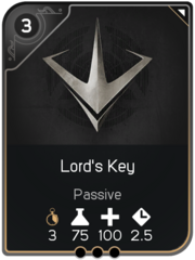 Lord's Key card