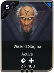 Wicked Stigma card