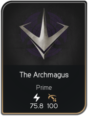 The Archmagus card