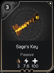Sage's Key card