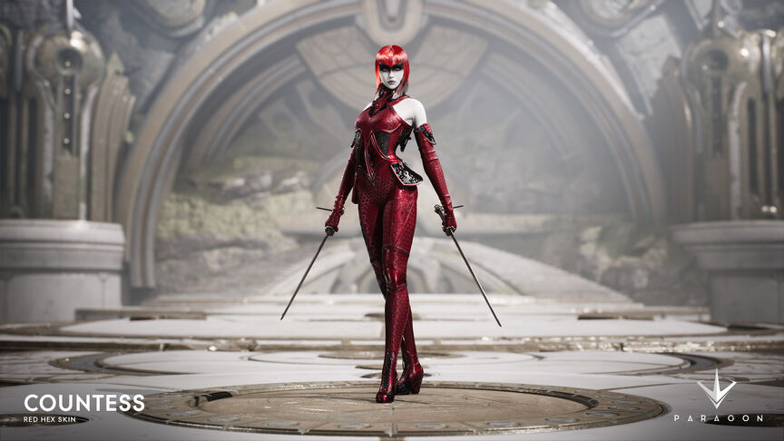 Countess Red Hex skin