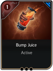 Bump Juice card