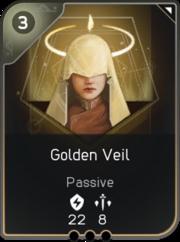 Golden Veil card