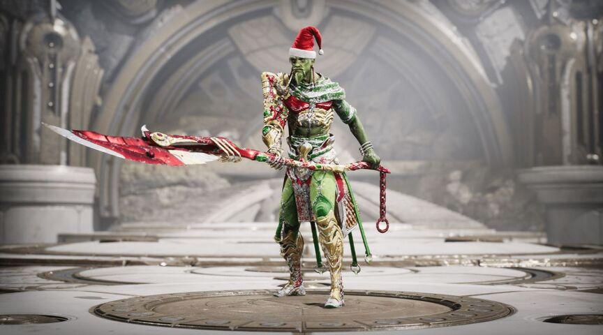 Feng Mao Yuletide skin