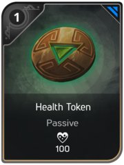 Health Token card