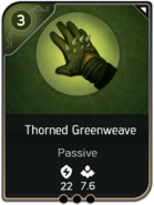 Thorned Greenweave