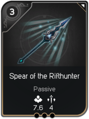 Spear of the Rifthunter card