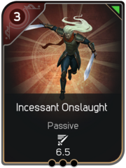 Incessant Onslaught card