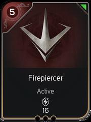 Firepiercer card